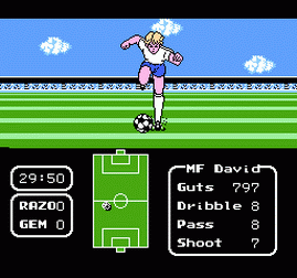 Tecmo Cup - Soccer Game