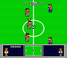 High School Soccer - Kunio Kun