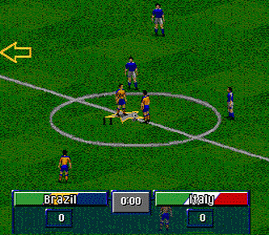 3-in-1 Flashback - World Champ. Soccer - Tecmo World Cup 92